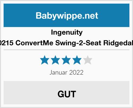 Ingenuity 10215 ConvertMe Swing-2-Seat Ridgedale  Test