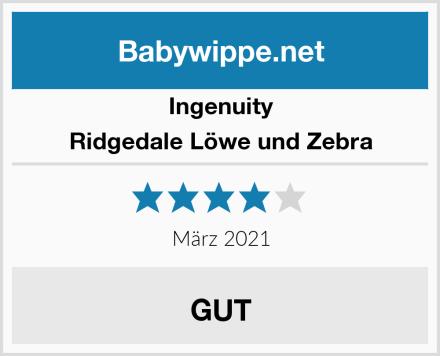 Ingenuity Ridgedale Löwe und Zebra Test
