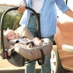 Sicher mit dem Baby im Auto unterwegs