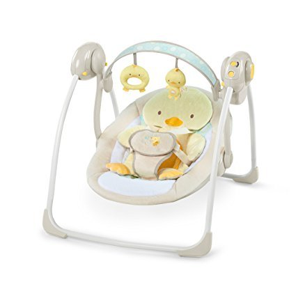 Ingenuity Soothe and Delight Portable Swing